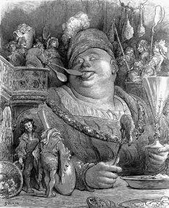 Gargantua, personnage emblématique de Rabelais