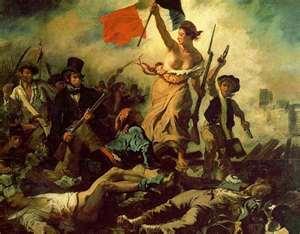 La liberté guidant le peuple, Delacroix, 1830