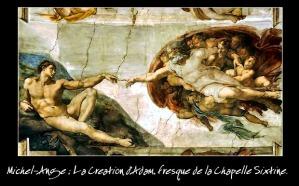 La-création-Michael-Ange